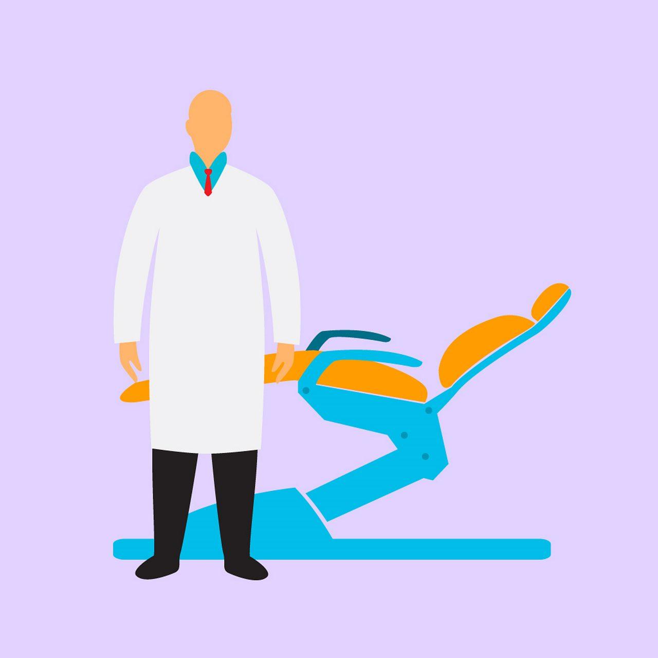 Groof A W de tandarts lachgas