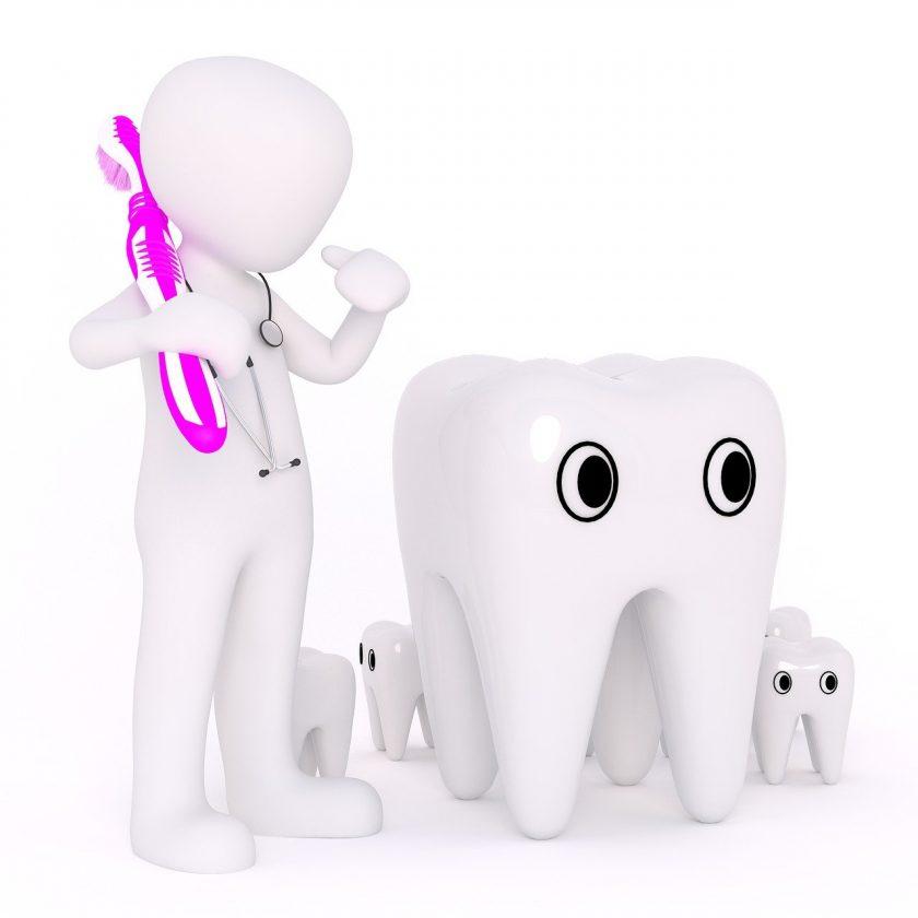 Hewitt L R angst tandarts