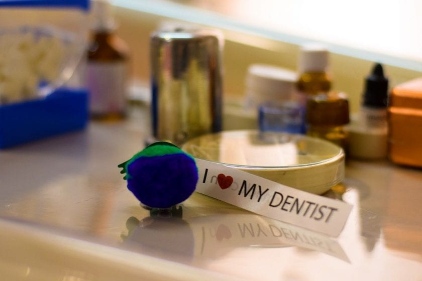 Mantel R tandarts behandelstoel
