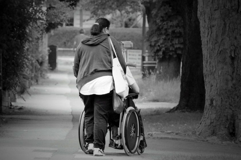 Regie-In-Eigen-Hand instelling gehandicaptenzorg verstandelijk gehandicapten beoordeling