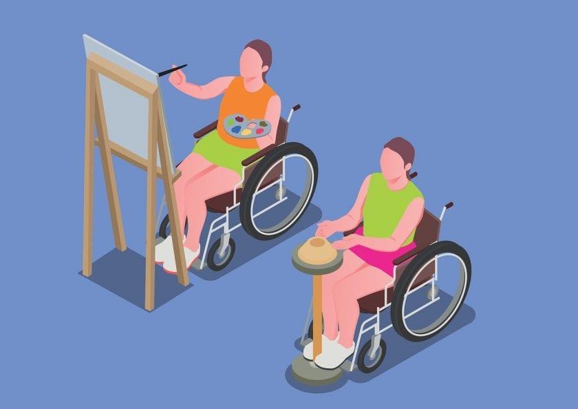 SDW Dagcentrum 't Werkatelier instellingen voor gehandicaptenzorg verstandelijk gehandicapten