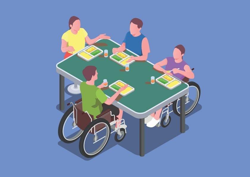 Stichting Sprank Locatie Bernhardpassage gehandicaptenzorg ervaringen