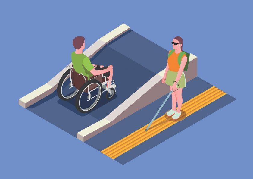 Visio expertisecentrum voor slechtziende en blinde mensen gehandicaptenzorg ervaringen