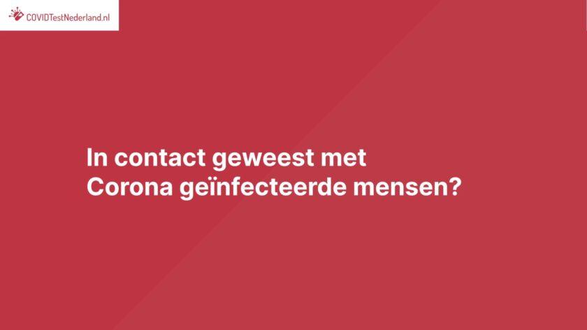 corona sneltest Froombosch teststraat