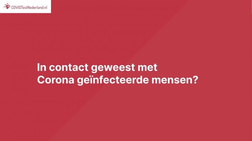 corona sneltest Westerbork teststraat
