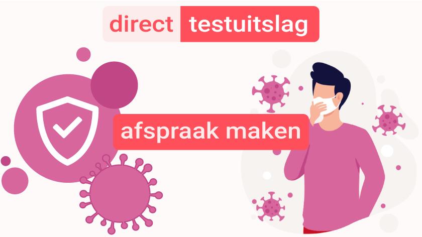 Coronatest Schiphol-Rijk met PCR sneltest op locatie